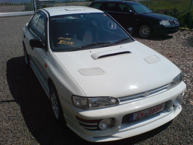 Subaru WRX STI 275PS 1220kg