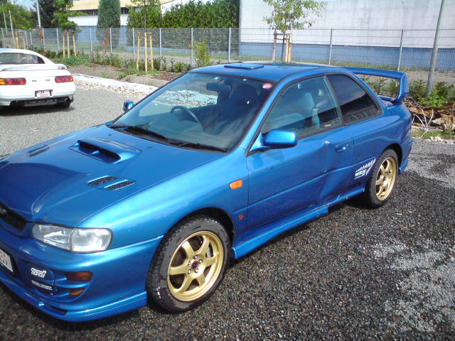 Subaru WRX STI Type R 280PS 1190kg